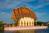 Buddhistic temple on Koh Samui island, Thailand — 图库照片