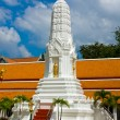 White pagodin thai temple — Stock Photo #11552301