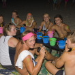 Foto Stock: Full moon party