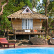 Stock Photo: Beautiful tropical beach house