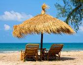 Beautiful tropical beach in Cambodia — Stock Photo