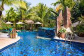 スイミング プール、タイ — ストック写真