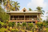 Beautiful tropical beach house — Stock Photo
