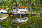 Tropical hotel in the jungle, Thailand — Stock Photo
