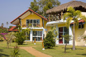 Beach bungalow , Thailand . — Stock Photo