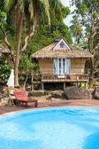 Beach bungalow , Thailand . — ストック写真