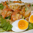 Seafood fried rice - 图库照片
