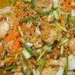 Постер, плакат: Pad thai with seafood
