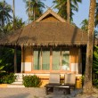 Foto Stock: Tropical beach house