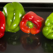 Four peppers — Stock Photo #11176419