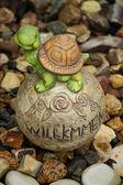 Stone Turtle Figurine — Stock Photo