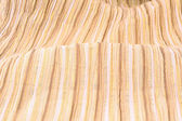 Fabric with golden stripes — Stock Photo
