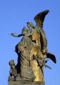 Statue in Rome — Stock Photo