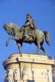 Monument Vittorio Emanuele — Stock Photo