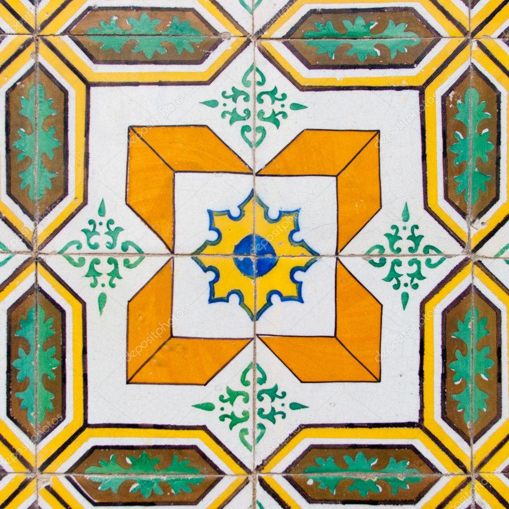 Azulejo vintage de portugal fotografias de stock pallmallz 11174172 - Azulejos vintage ...