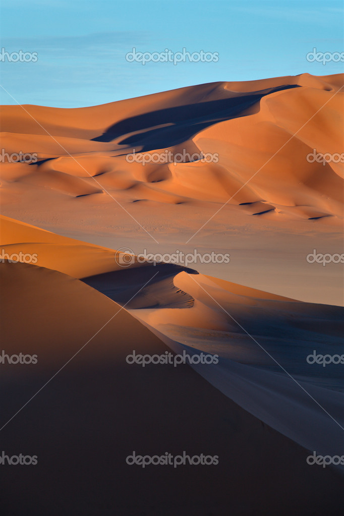 An image of the Sahara desert in Libya  Stock Photo #10793195
