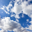 Moody blue sky — Stock Photo #11341289