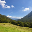 Landscape of Nationalpark Alto Garda — Stock Photo