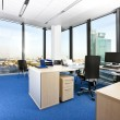 Royalty-Free Stock Photo: Modern business office with panoramic cityscape