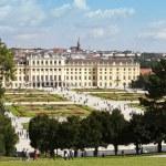 Schönbrunn Palace and garden - Vienna — Stock Photo #11341447