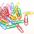 Colorful paper clips — Stock Photo #11043307