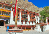 Front portion of hemis gompa — Stock Photo