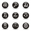 Glossy icon set — Stockvector #10797526