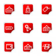 Glossy icon set — Vettoriali Stock