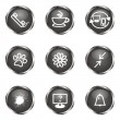 Glossy icon set — Stock Vector #11018824