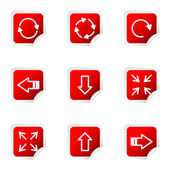 Parlak icon set — Stok Vektör