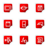 Zestaw błyszczący ikona — Wektor stockowy