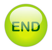 End Button — Stock Photo