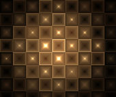 Glowing Brown Abstract Tiles Background — Stock Photo