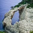 Lonely rocks at Zakynthos island — Stock Photo
