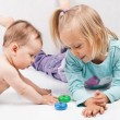 Kids playing - Stock Photo