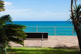 Rilssante 板凳在利古里亚海 — 图库照片