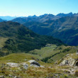 Panorama of the Italian Alps — Stock Photo