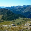Stock Photo: Panorama of the Italian Alps