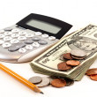 Personal finance and accounting — Stock Photo