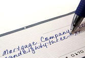 Mortgage payment — Stock Photo