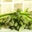 Stock Photo: Green asparagus