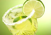 Lime cocktail drink — Stock Photo