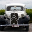 Oldtimer Citroen French car - Stock Photo