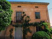 Hus i byn — Stockfoto