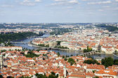 Prague Aerial view — Stock Photo