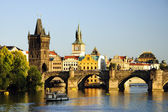 Charles bridge, Prage — Stock Photo