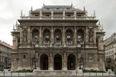 Budapest opera house — Stock Photo