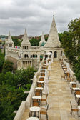 Fishermen´s bastion in Budapest — Stock Photo