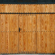 Stock Photo: Wooden gate