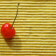 A berry of cherry — Stock Photo